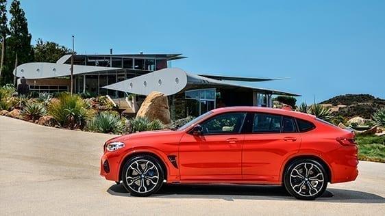 Medidas del BMW X4