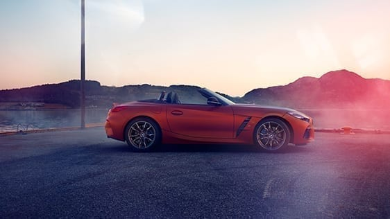 Diseño Exterior del BMW Z4