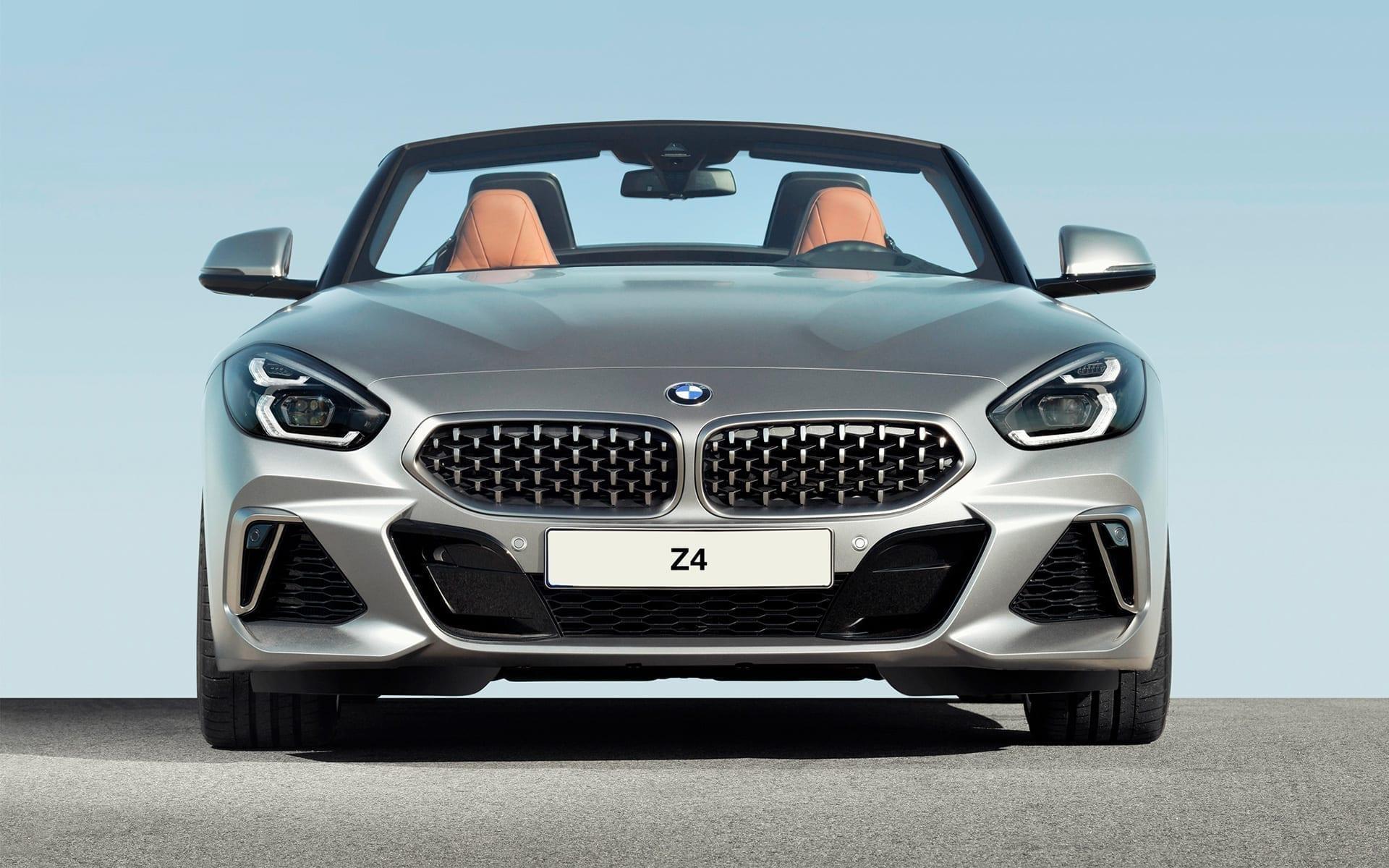 Parte frontal del BMW Z4