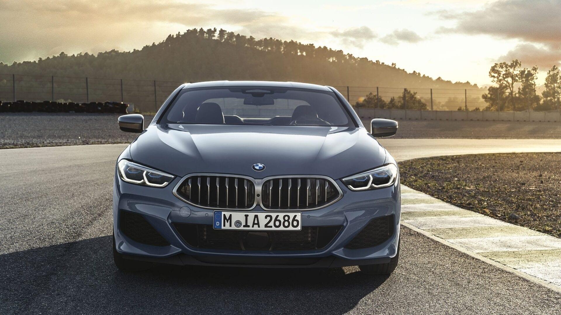 Parte delantera del BMW Serie 8