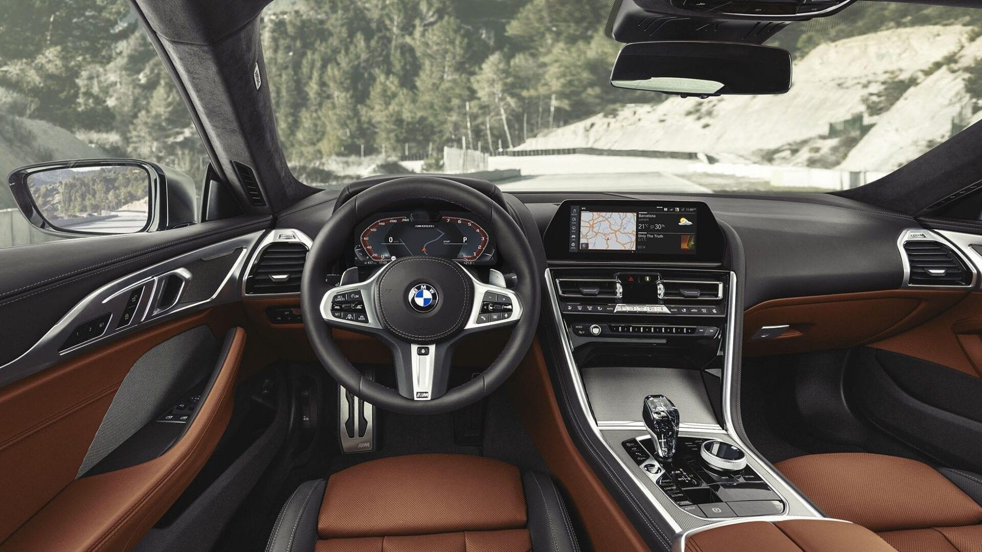 Tapiceria interior BMW Serie 8