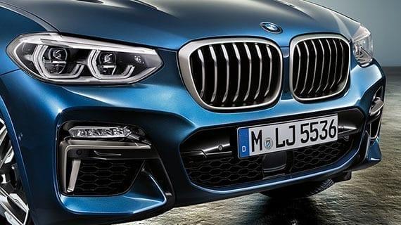 Características y equipamiento del BMW X3