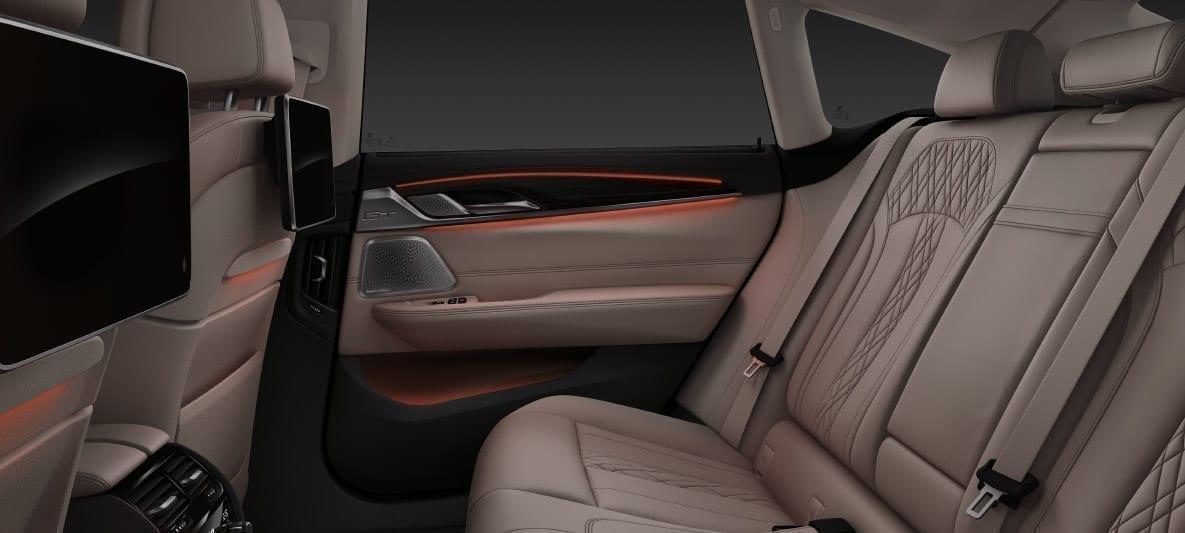 Interior amplio y materiales de calidad BMW Serie 6