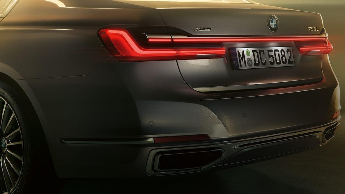Líneas suaves en el diseño del BMW Serie 7