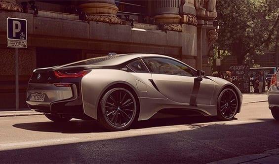 Diseño exterior del BMW i8
