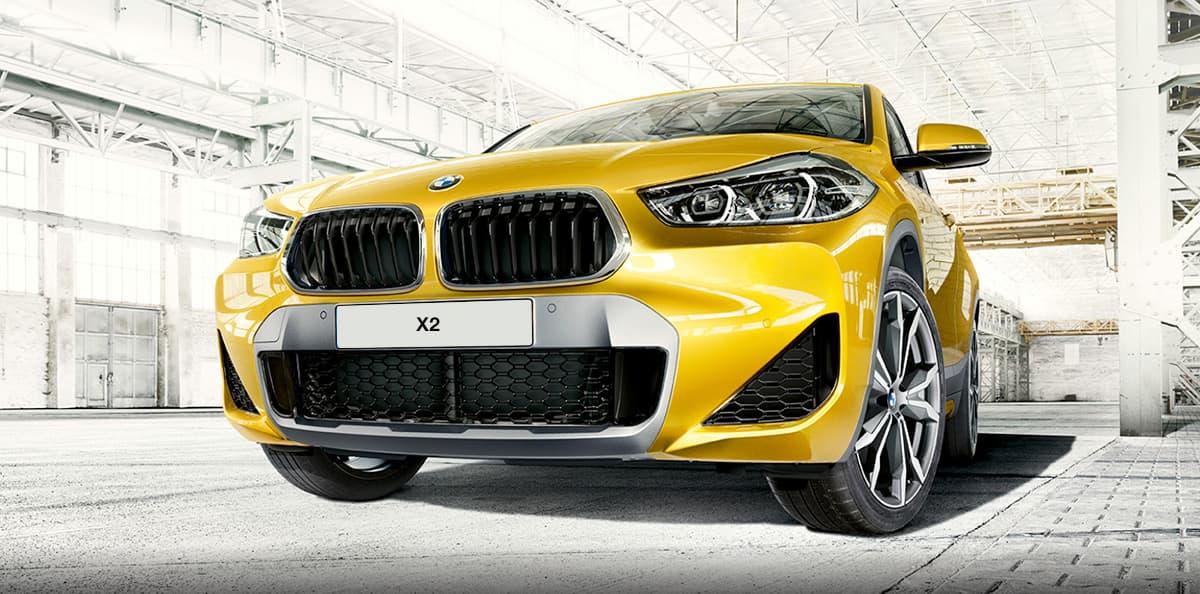 Frontal del BMW X2