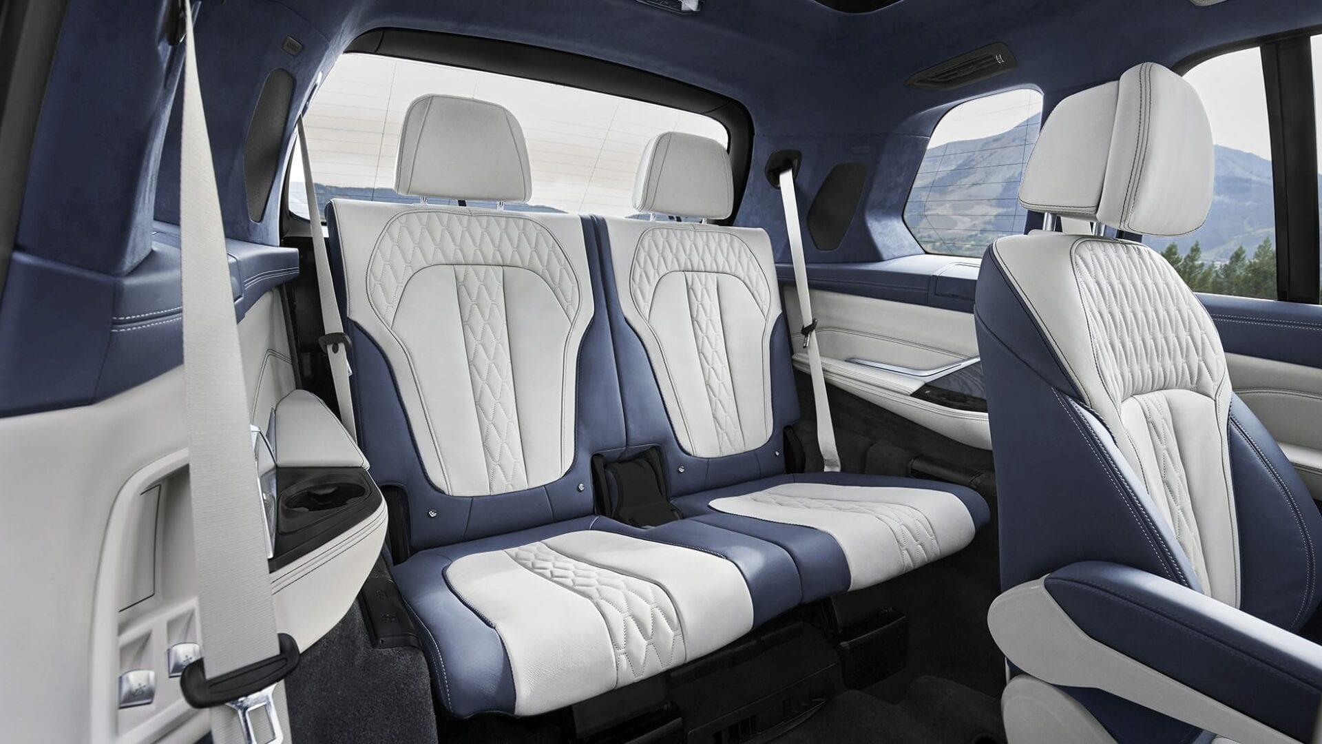 Asientos traseros de piel BMW X7