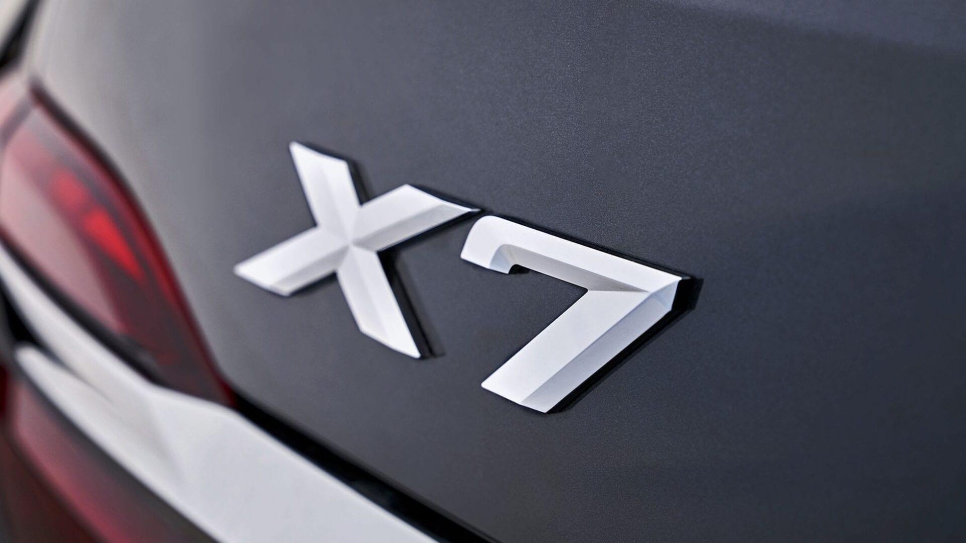 Logo de Serie 7 de BMW