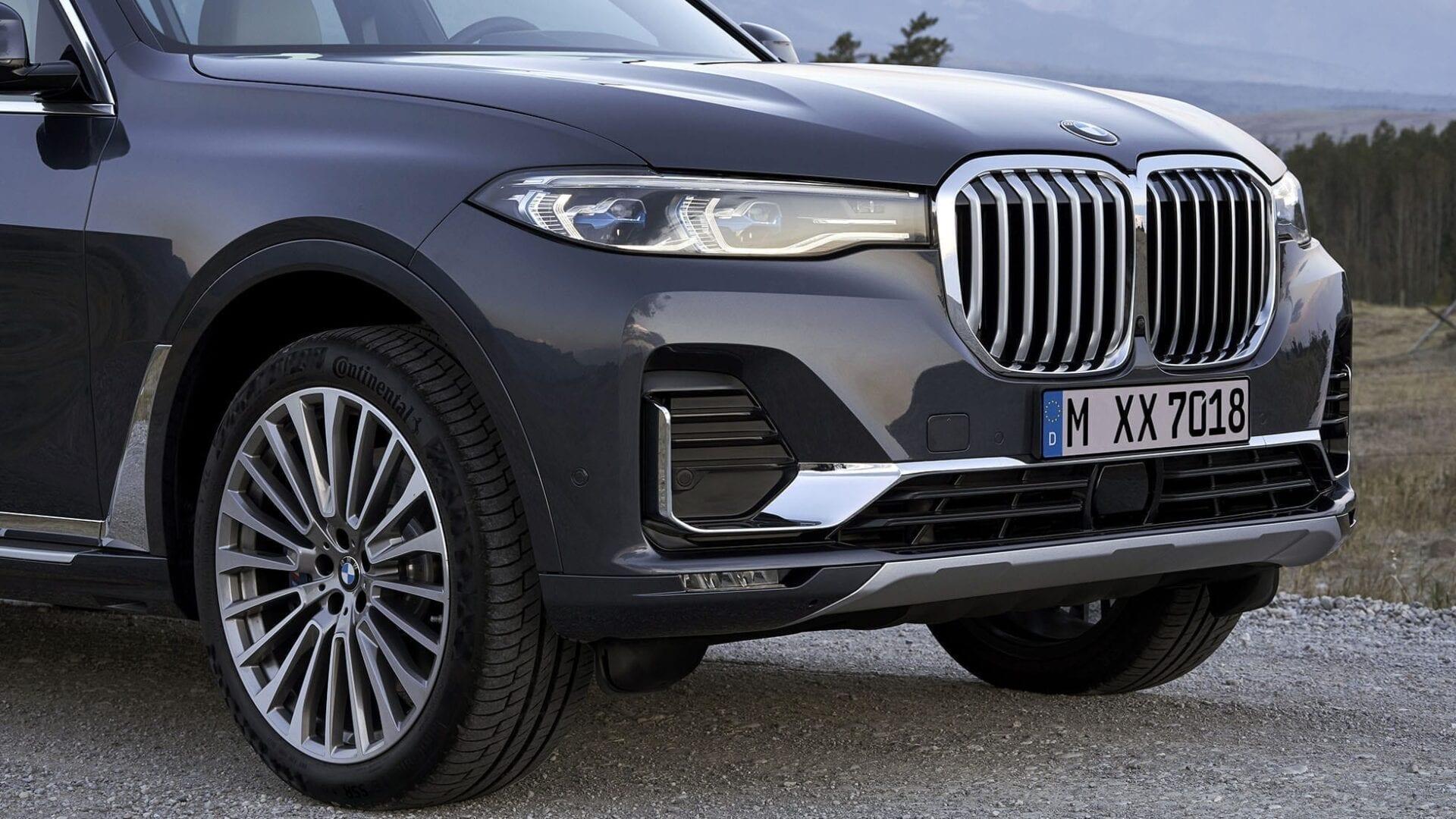 Faros del BMW X7