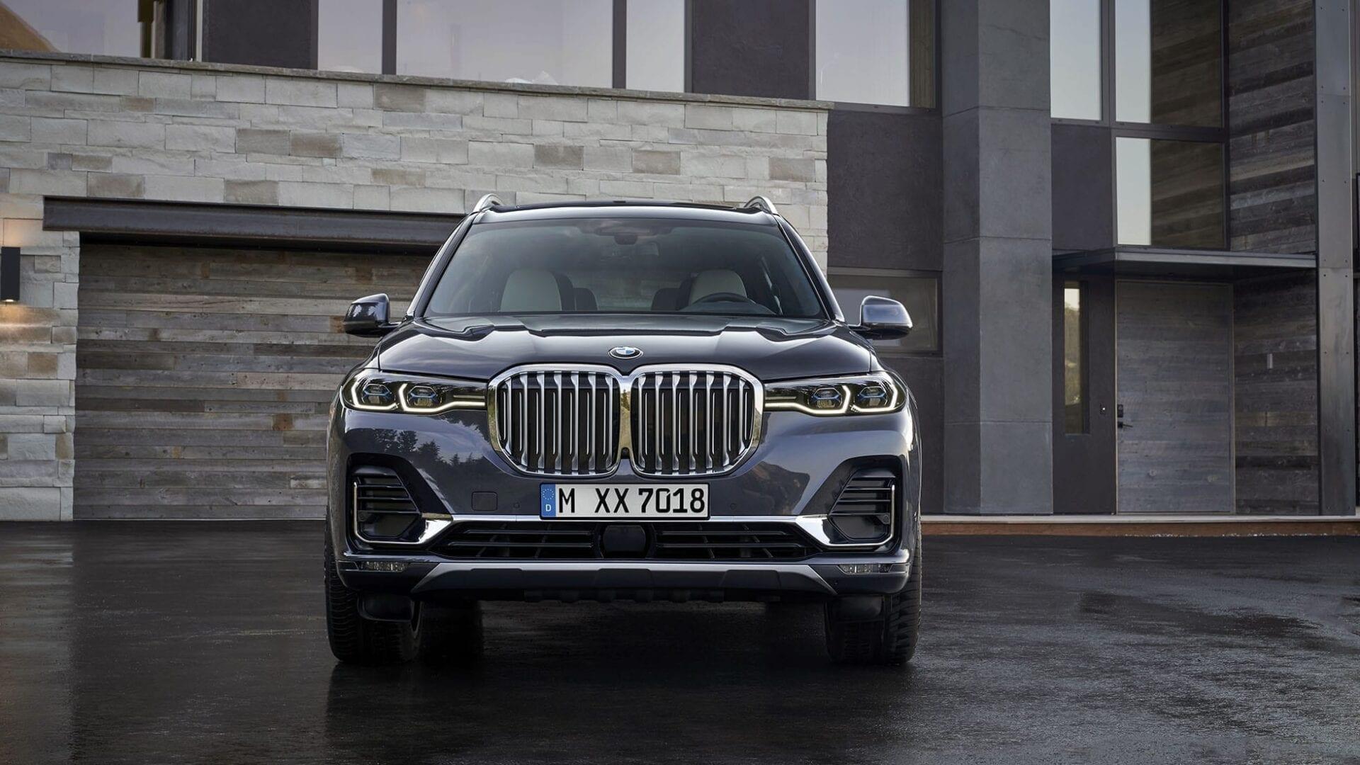 Parte frontal del nuevo BMW X7
