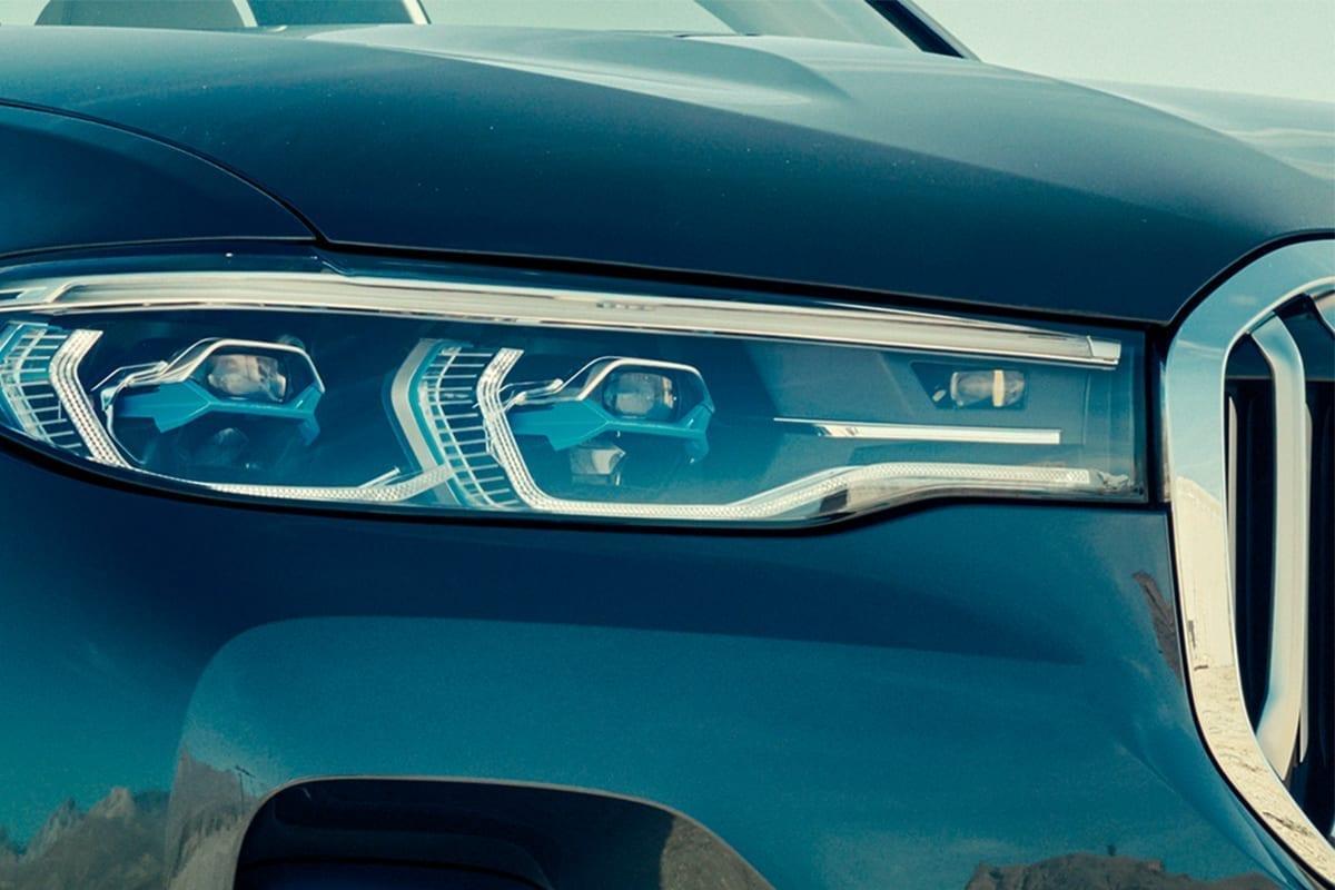 Faros de gran angular BMW X7