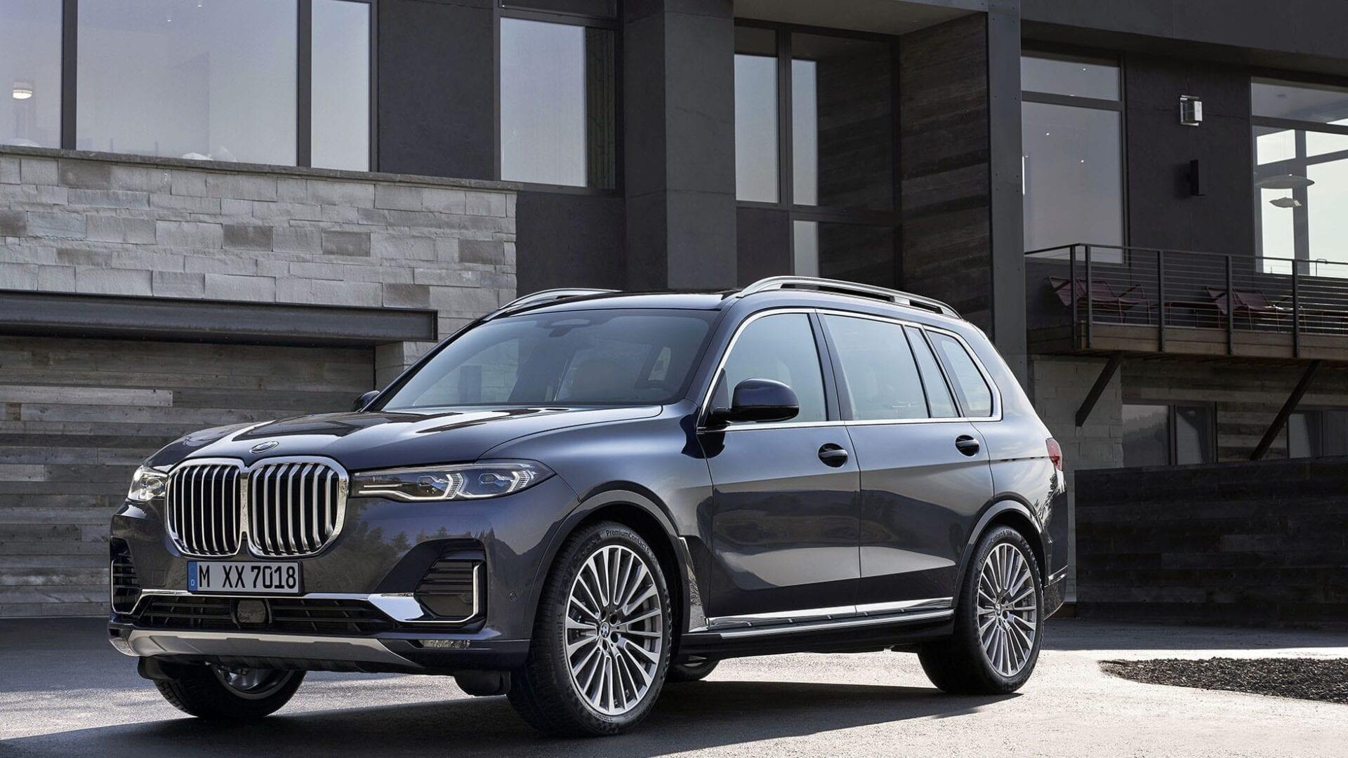 Vista general del BMW X7