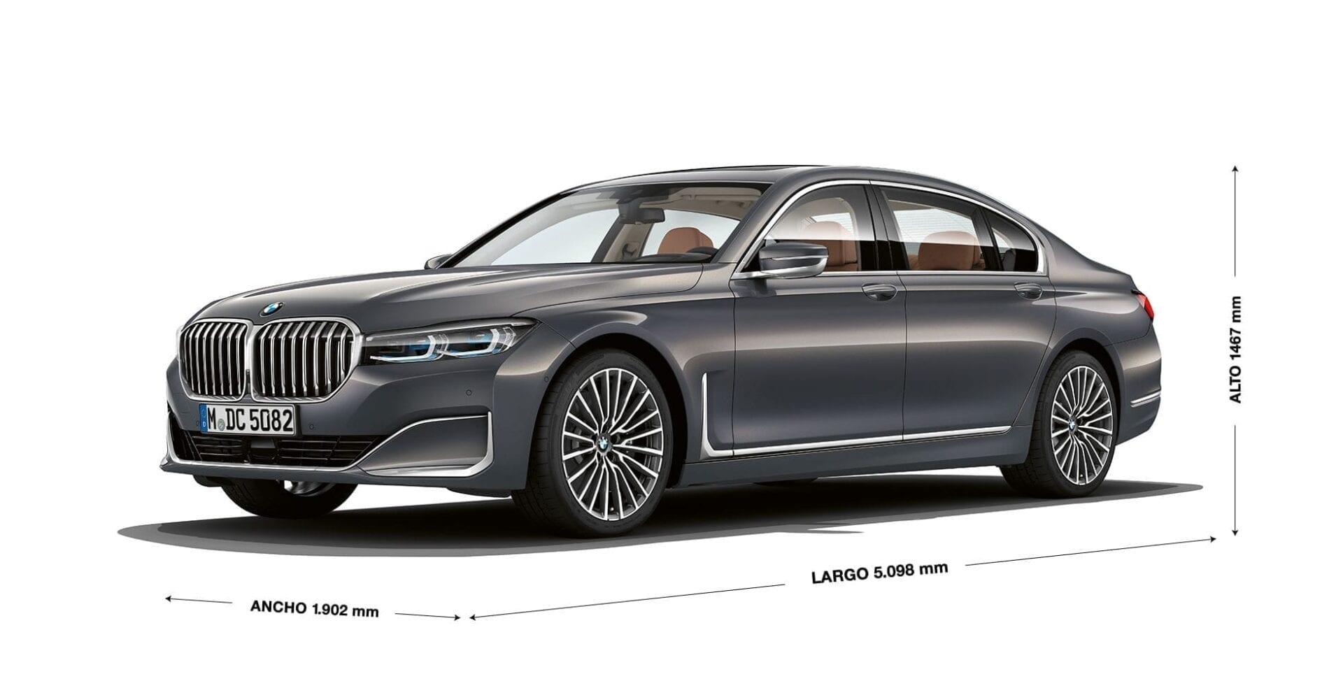 Dimensiones increibles del BMW Serie 7