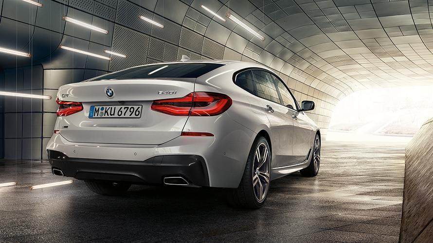 Parte trasera del BMW Serie 6