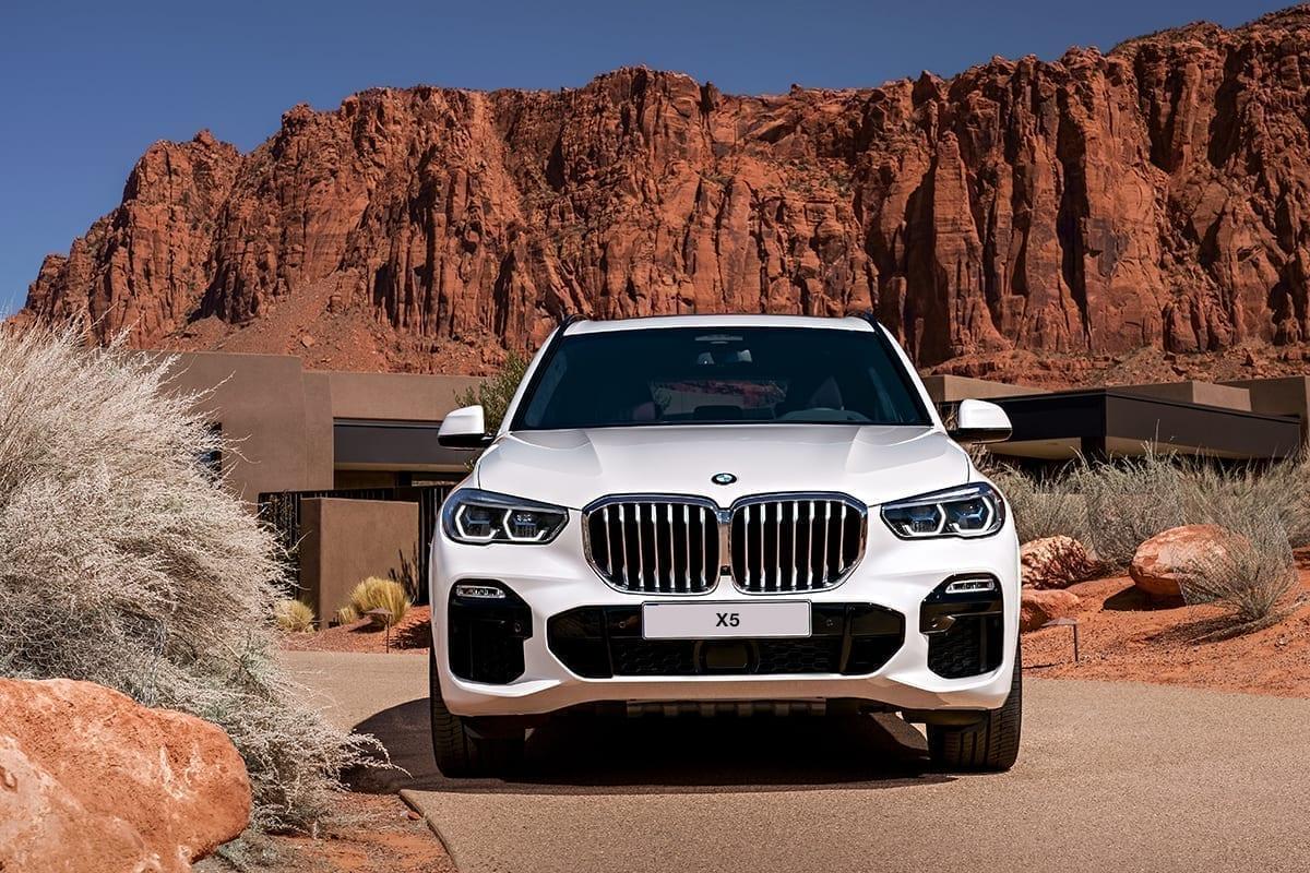 Parte frontal del BMW X5