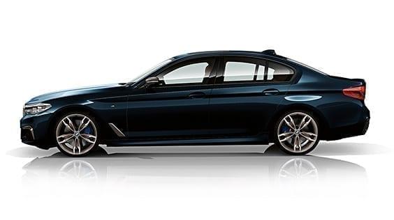 BMW Serie 5 diseño exterior