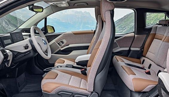 Tapiceria interior BMW I3