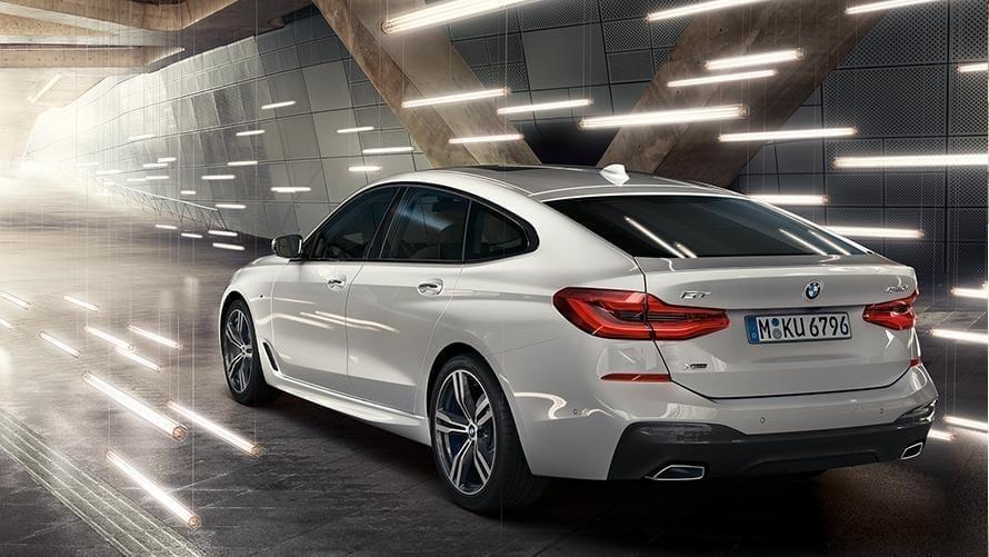 Diseño exterior elegante del BMW Serie 6