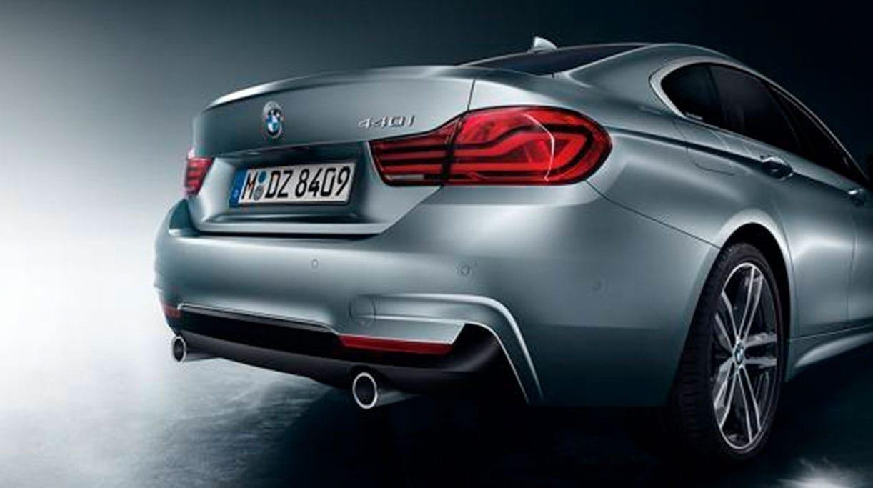 Parte trasera del BMW Serie 4