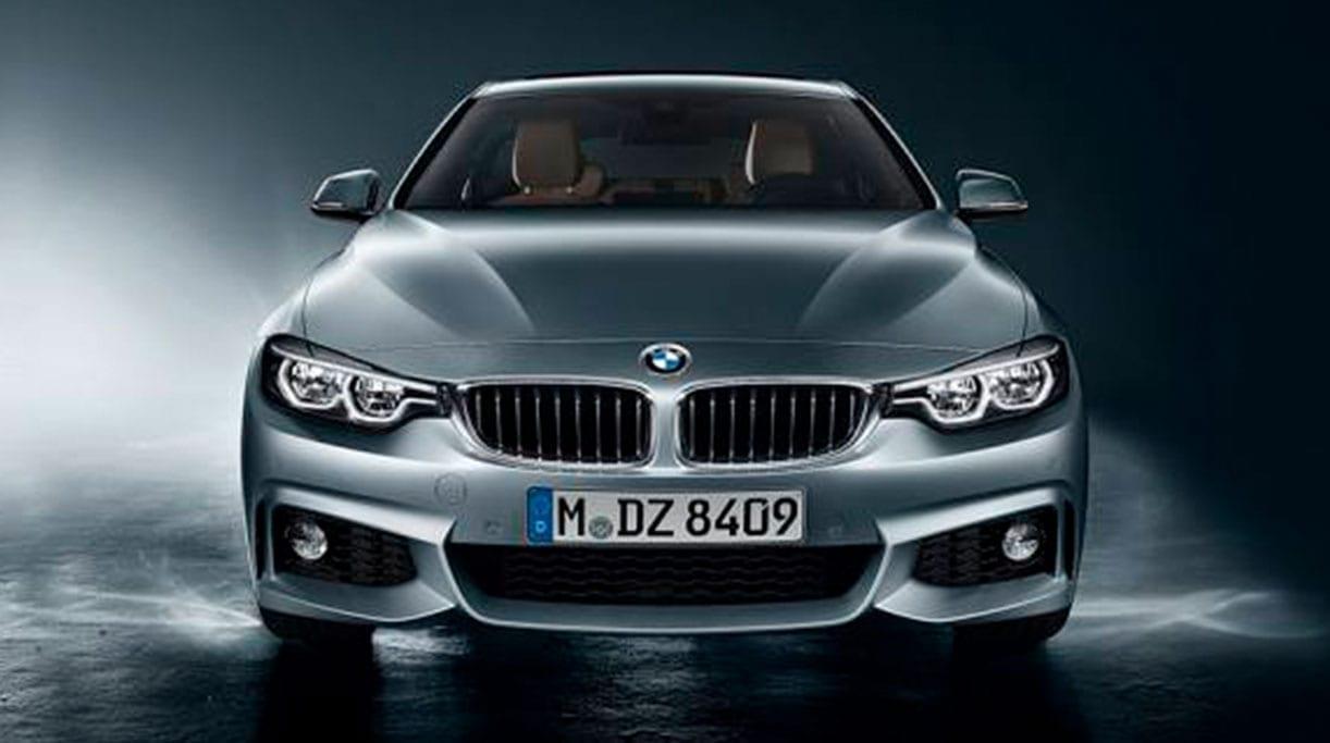 Imagen frontal del BMW Serie 4