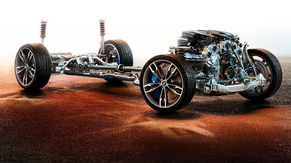 imagen sin carrocería del BMW Serie 5