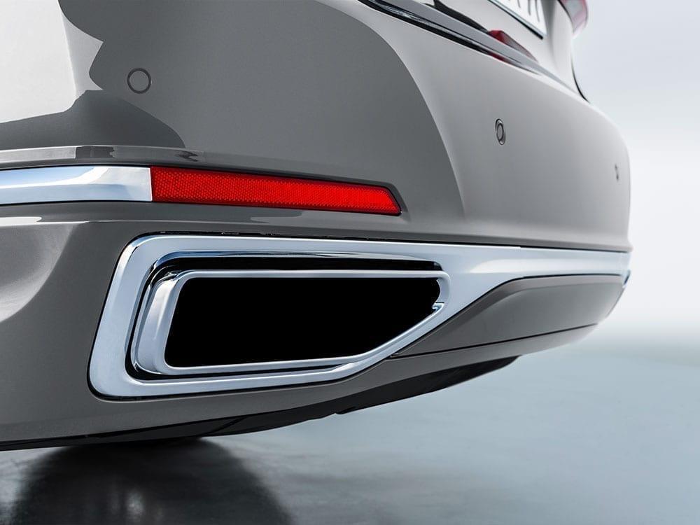 Embellecedores tubo escape BMW Serie 7