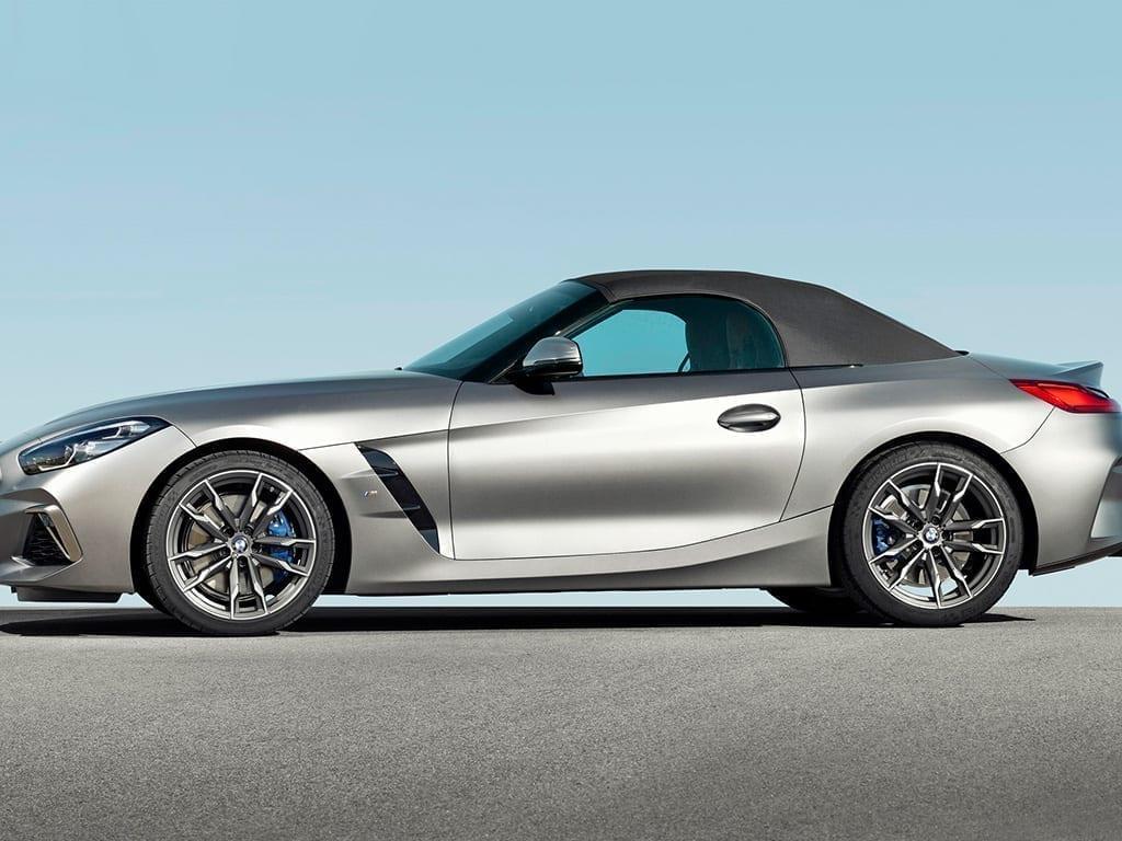 Vista lateral del BMW Z4