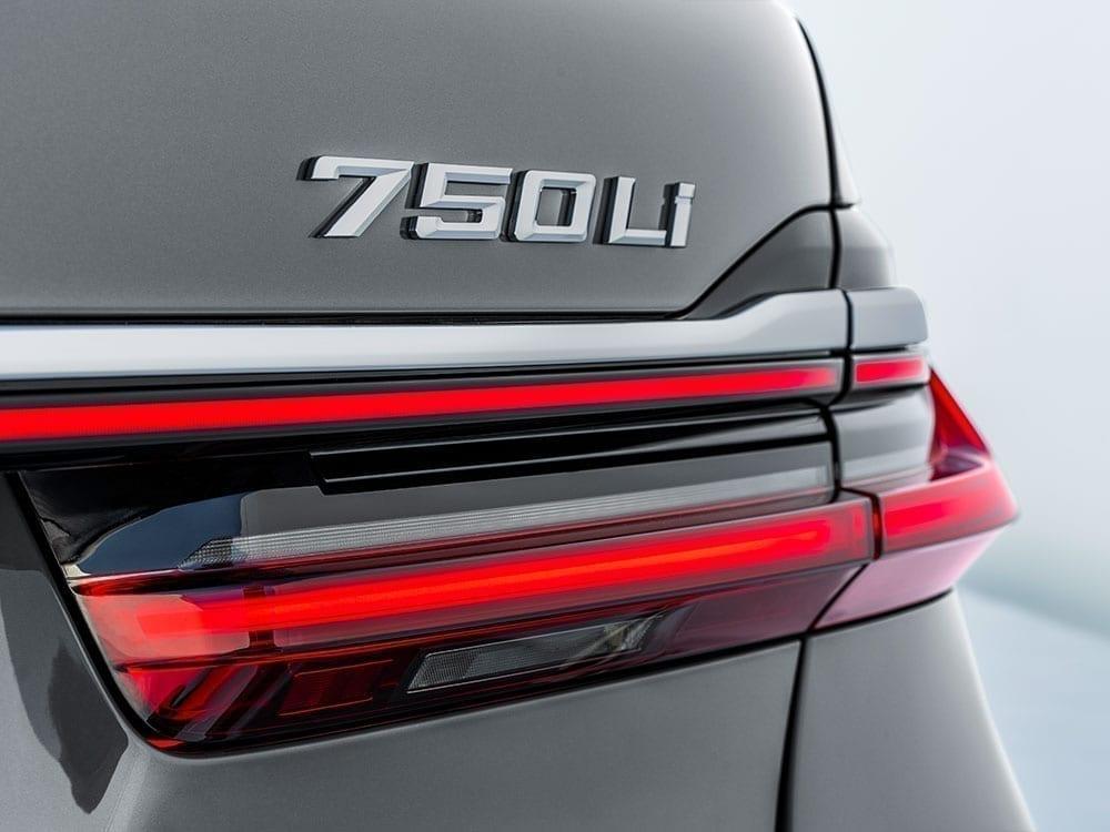 Serie 7 y modelo BMW