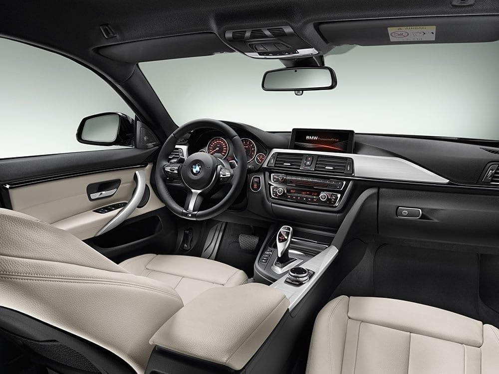 BMW Serie 4 habitáculo
