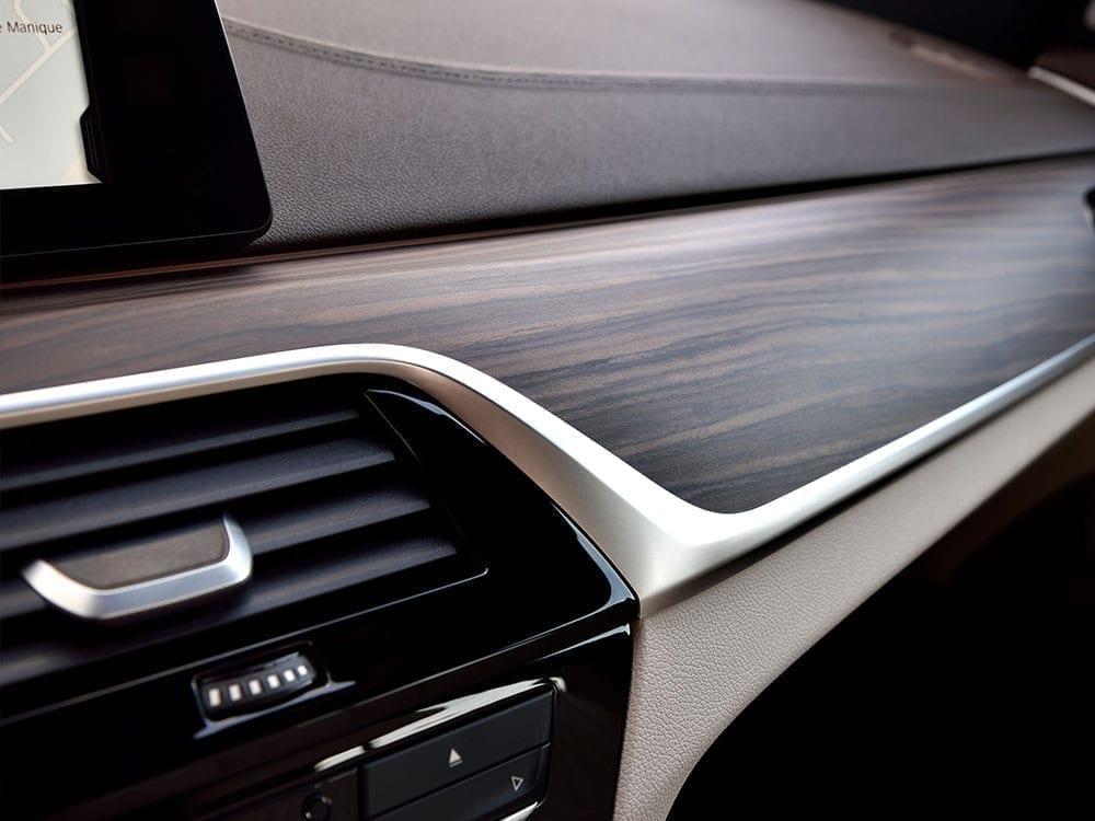 Detalles de calidad en el interior del BMW Serie 6
