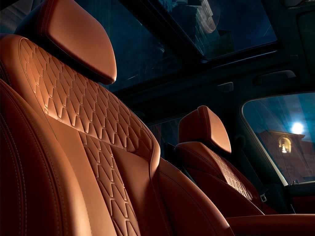 BMW X5 tapicería piel marrón