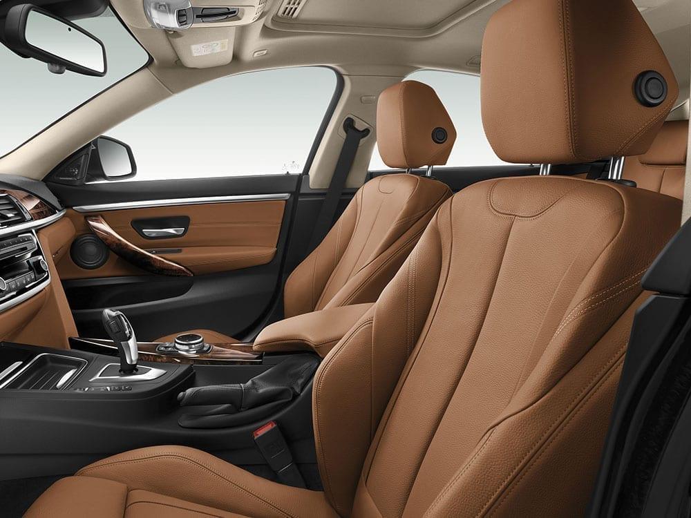 Interior del BMW Serie 4, elementos de comodidad y tecnología