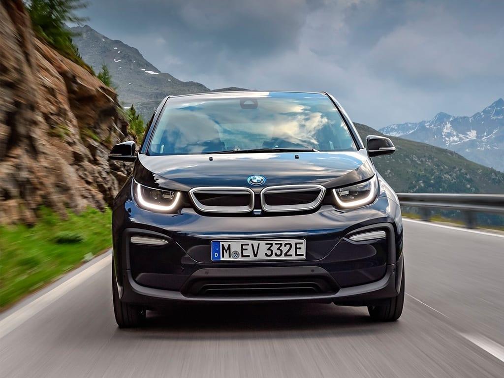 Parte frontal del BMW i3