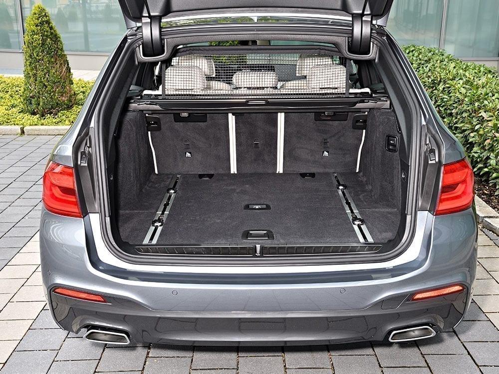 Maletero de gran capacidad BMW Serie 5