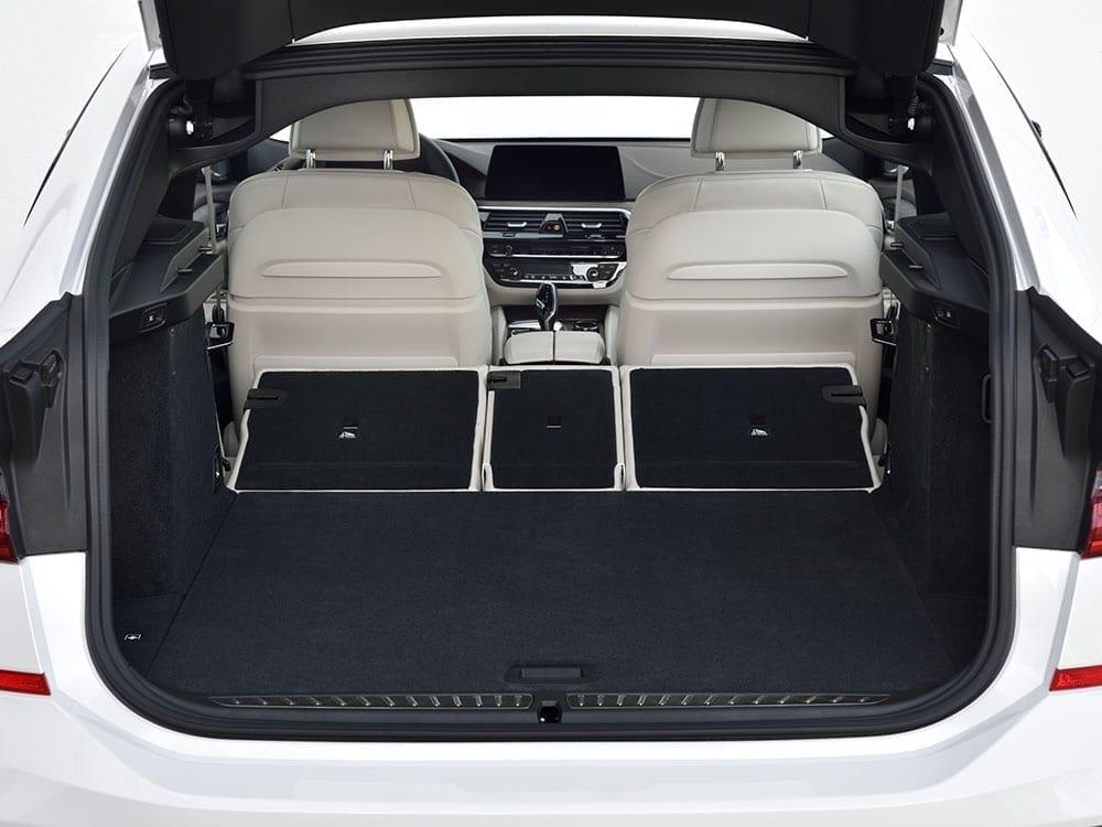 Gran capacidad de maletero BMW Serie 6