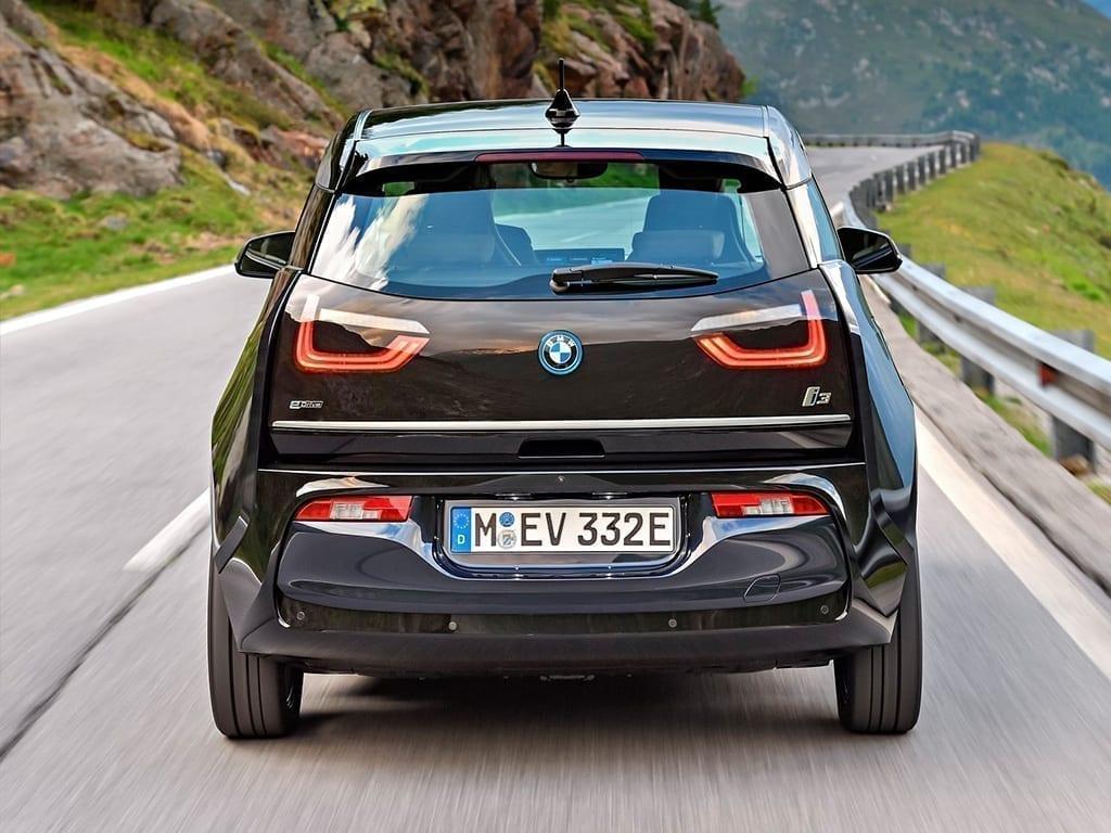 Parte trasera del BMW i3