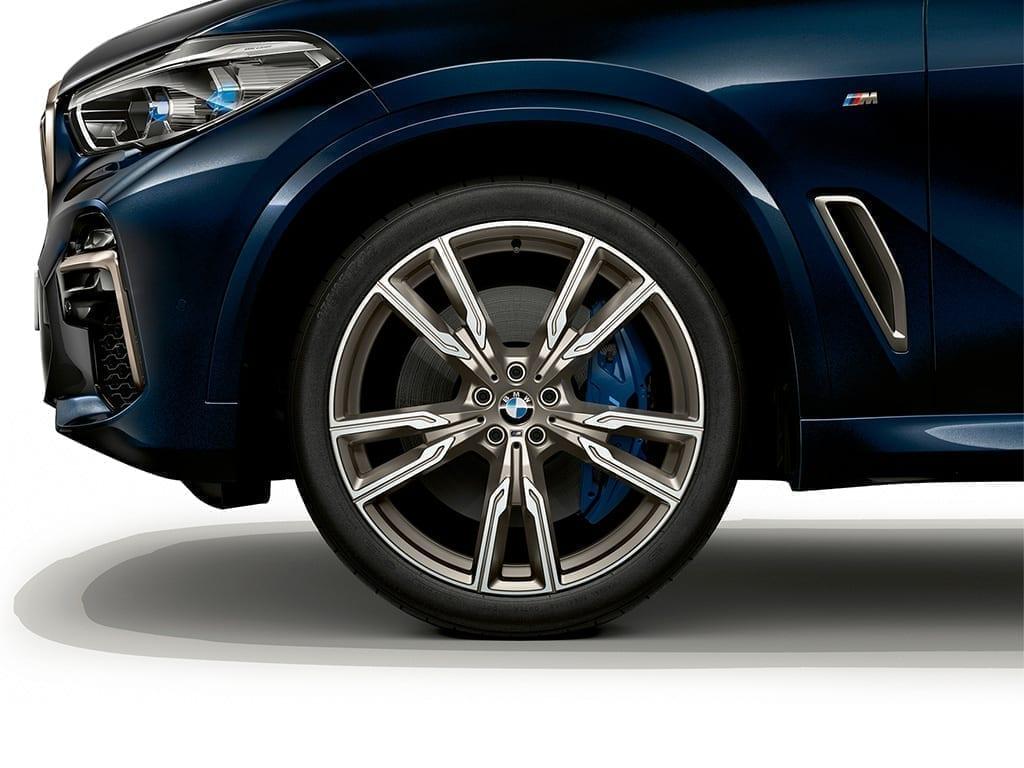 Nuevo diseño de llantas para el nuevo BMW X5
