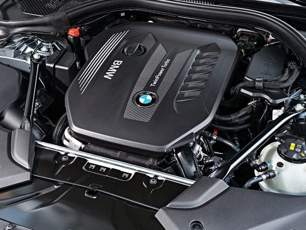 Tapa de motor BMW Serie 5