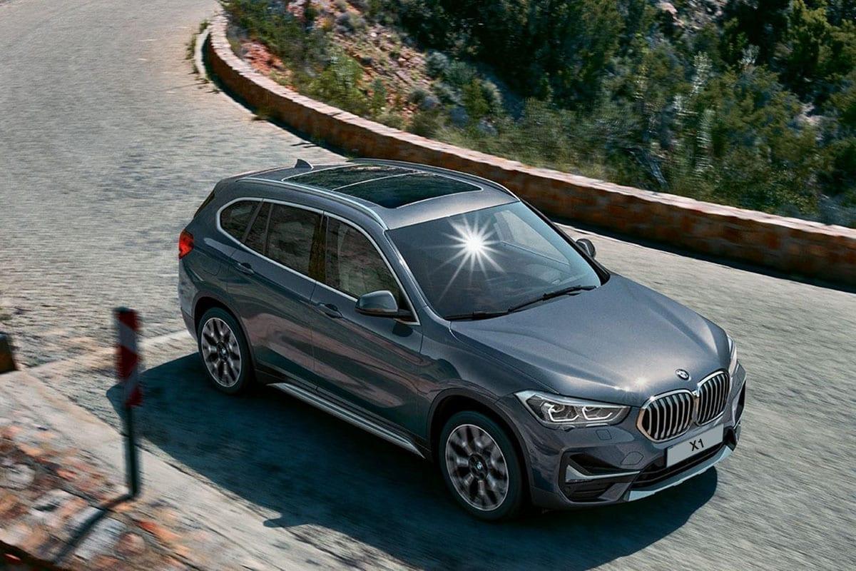 BMW X1 con techo de cristal