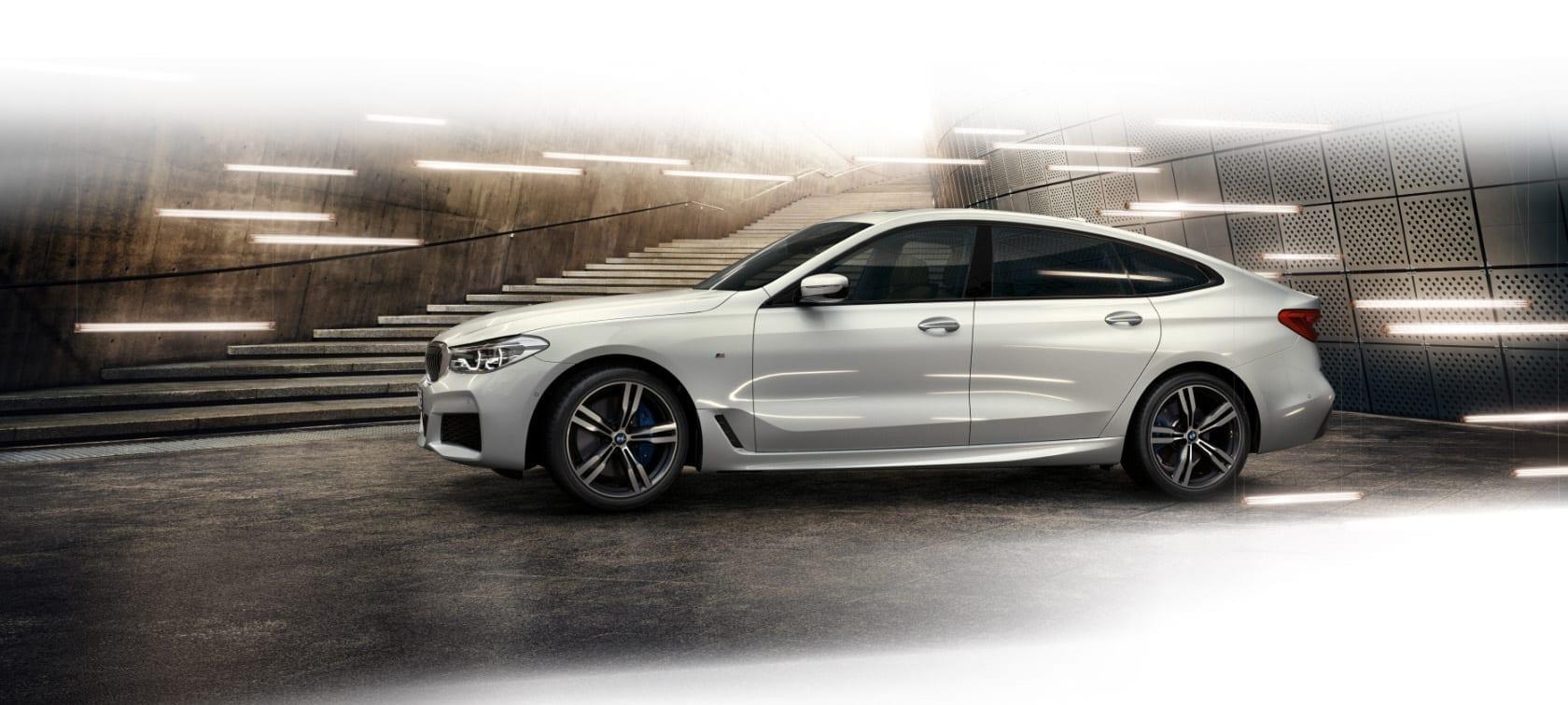 BMW SERIE 6 vista lateral