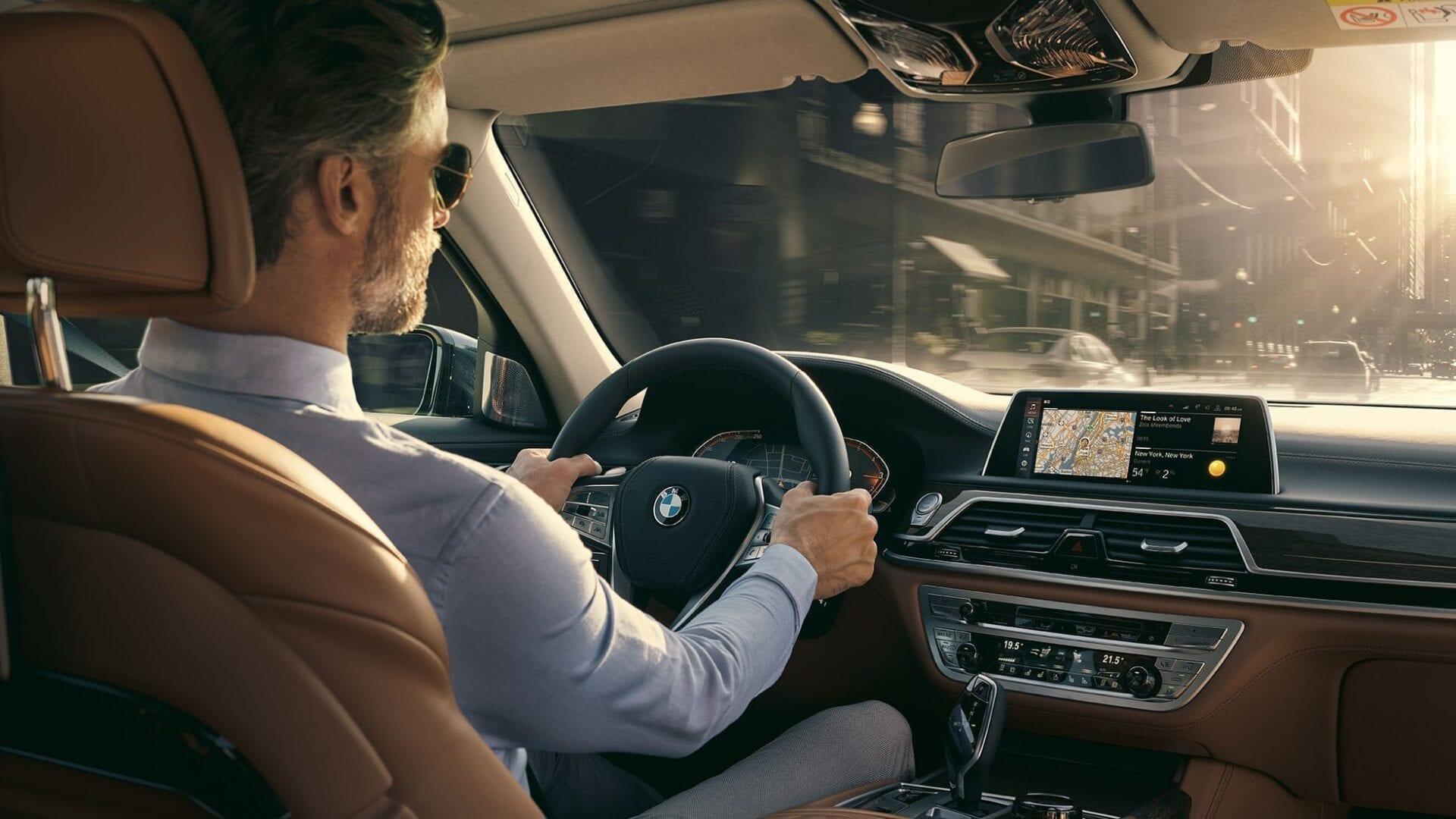 Comodidad y confort a la hora de conducir BMW Serie 7