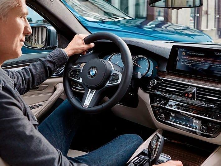 Interior espacioso y elegante del nuevo BMW Serie 5