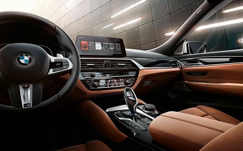 Interior de piel BMW Serie 6 Gran Turismo