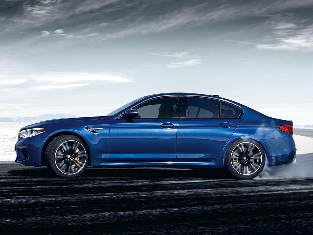 BMW M5 máxima potencia