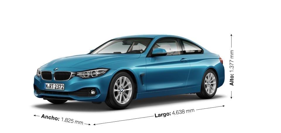 Dimenesiones del BMW Serie 4