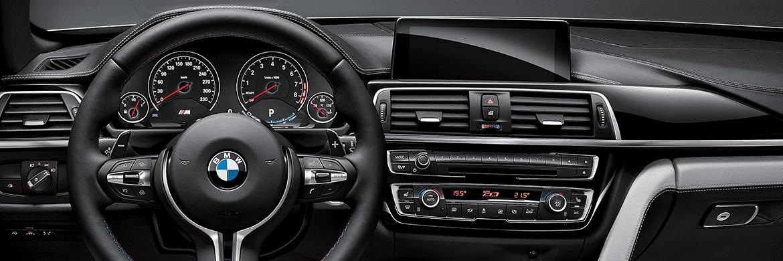 Salpicadero con materiales de gran calidad BMW M4