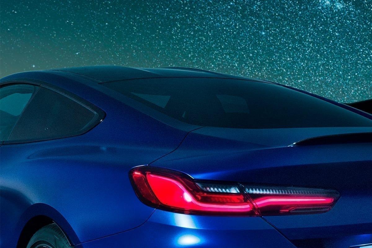 diseño del BMW M8 tan deportivo y exclusivo