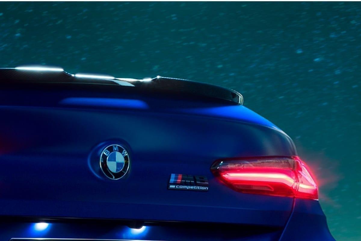 Logotipo deportivo de BMW M8