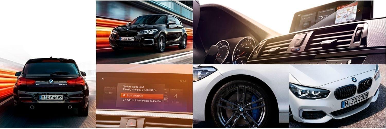 Mosaico de fotos del BMW Serie 1
