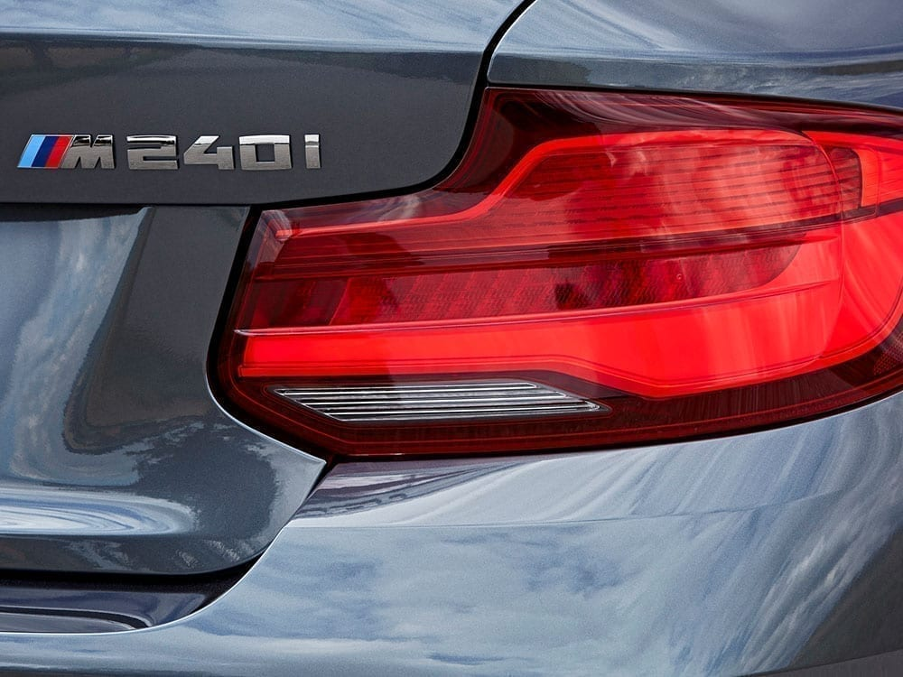 Logo deportivo del BMW Serie 2